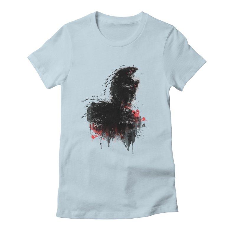 300 Women's Fitted T-Shirt by jun21's Artist Shop