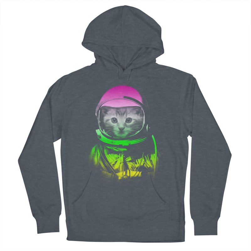 astronaut cat  Women's Pullover Hoody by jun21's Artist Shop
