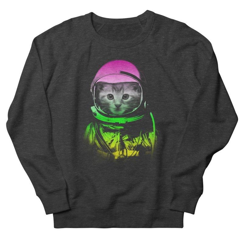 astronaut cat  Women's Sweatshirt by jun21's Artist Shop