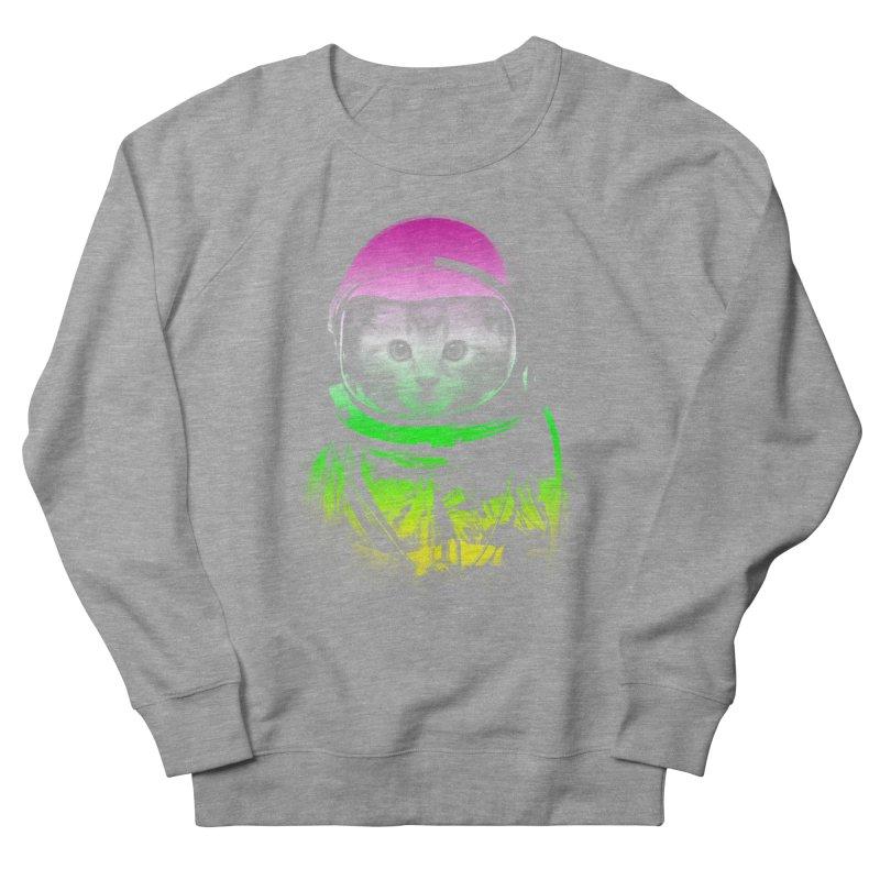 astronaut cat  Men's Sweatshirt by jun21's Artist Shop