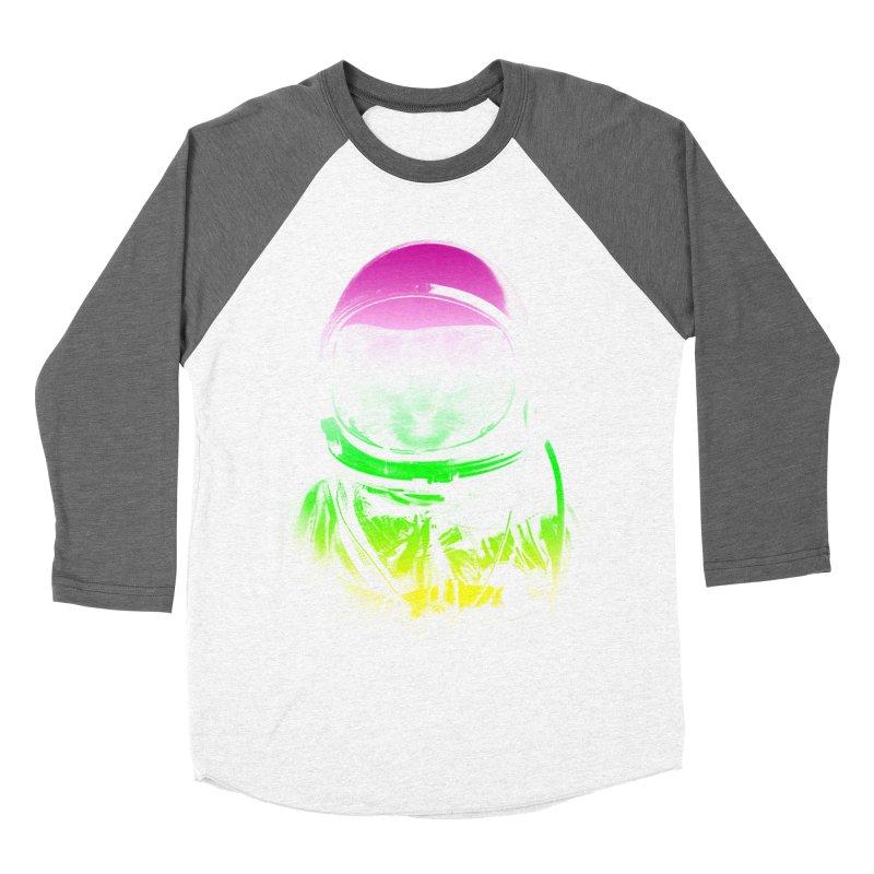 astronaut cat  Men's Baseball Triblend T-Shirt by jun21's Artist Shop