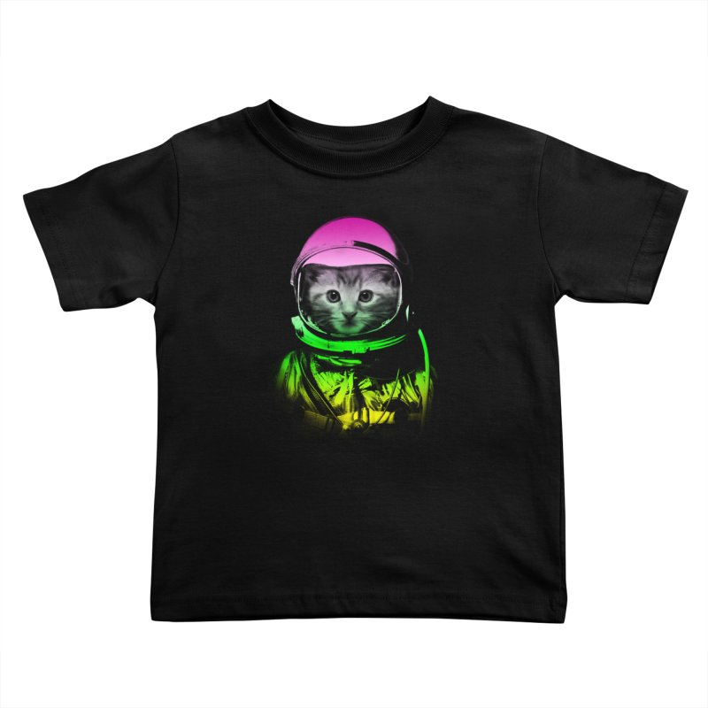 astronaut cat  Kids Toddler T-Shirt by jun21's Artist Shop