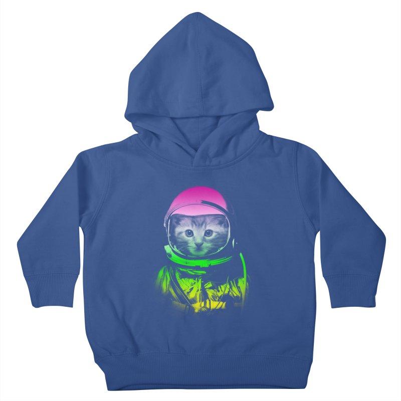 astronaut cat  Kids Toddler Pullover Hoody by jun21's Artist Shop