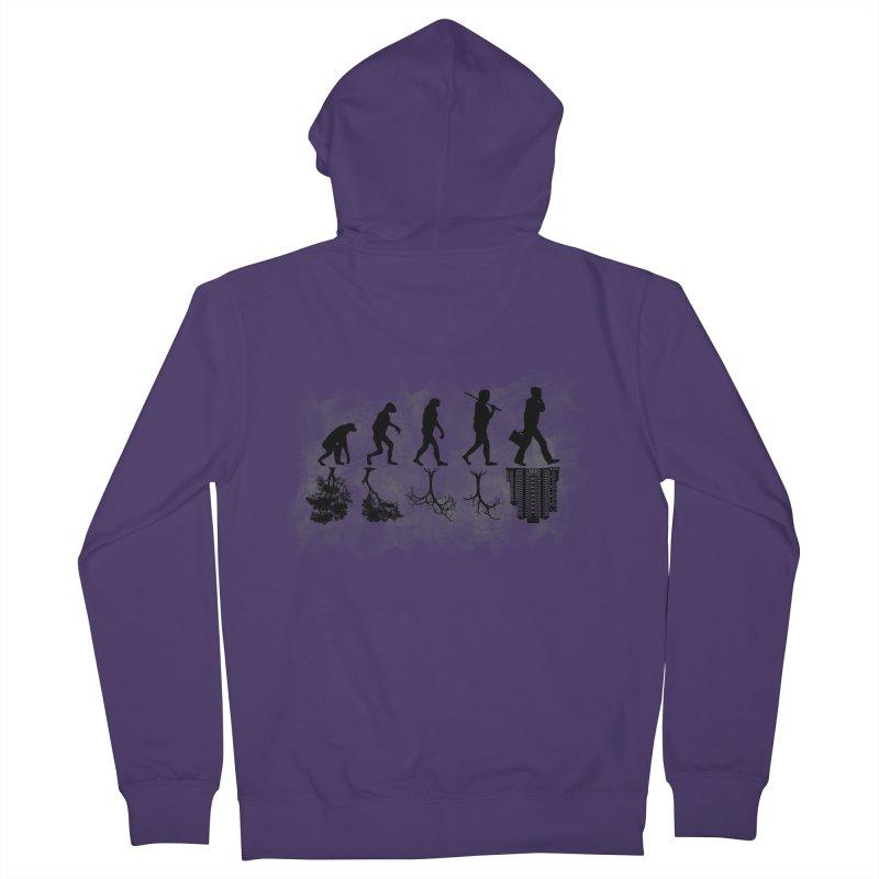 evolution  Women's Zip-Up Hoody by jun21's Artist Shop