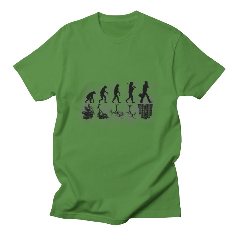 evolution  Men's T-shirt by jun21's Artist Shop