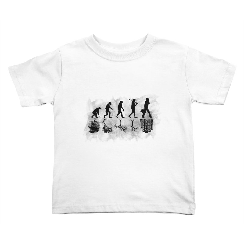 evolution  Kids Toddler T-Shirt by jun21's Artist Shop