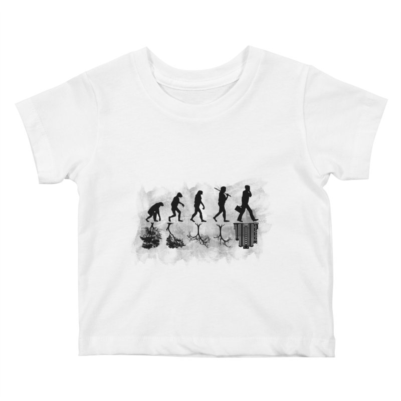 evolution  Kids Baby T-Shirt by jun21's Artist Shop