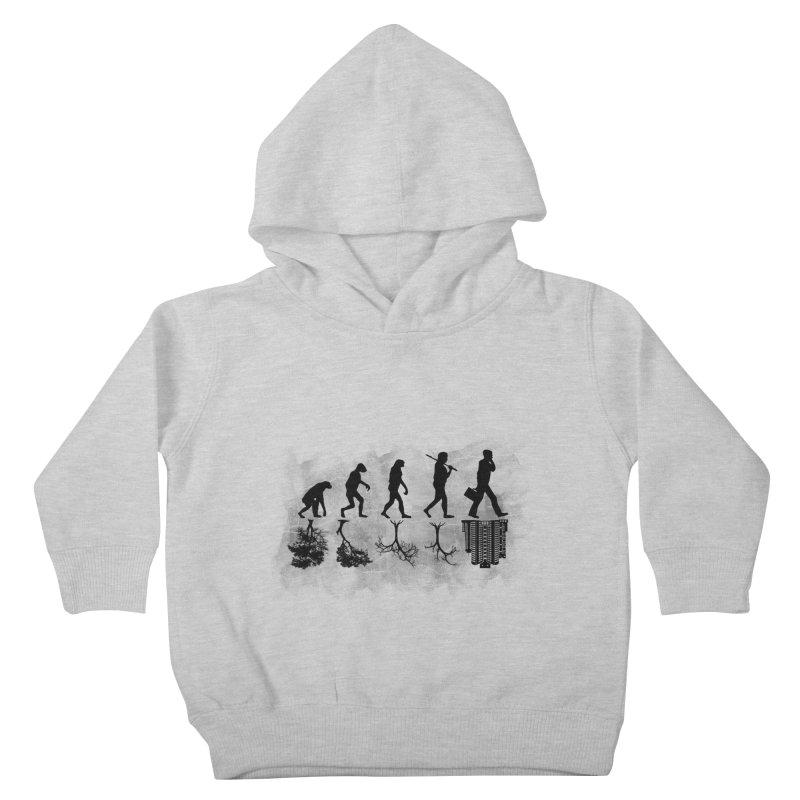 evolution  Kids Toddler Pullover Hoody by jun21's Artist Shop