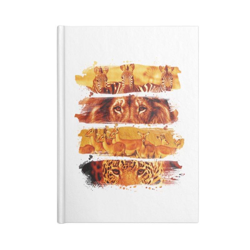 wild stroke Accessories Notebook by jun21's Artist Shop
