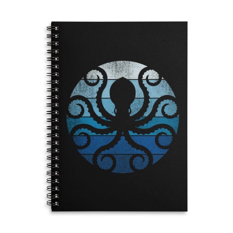 octopus Accessories Notebook by jun21's Artist Shop