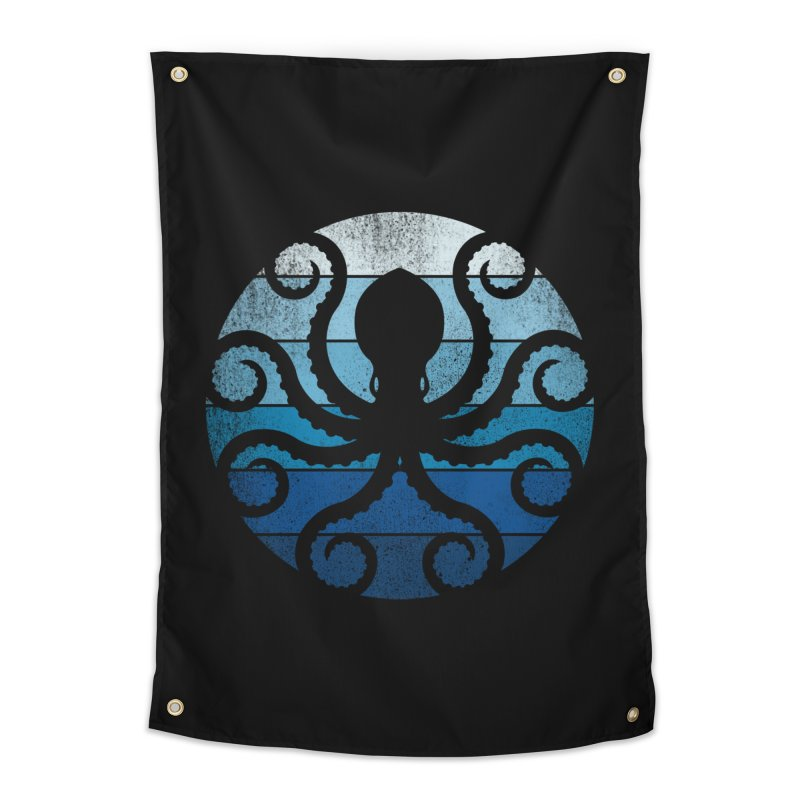 octopus Home Tapestry by jun21's Artist Shop
