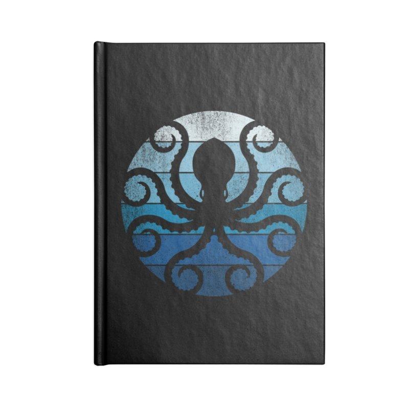 octopus Accessories Notebook by jun21's Artist Shop