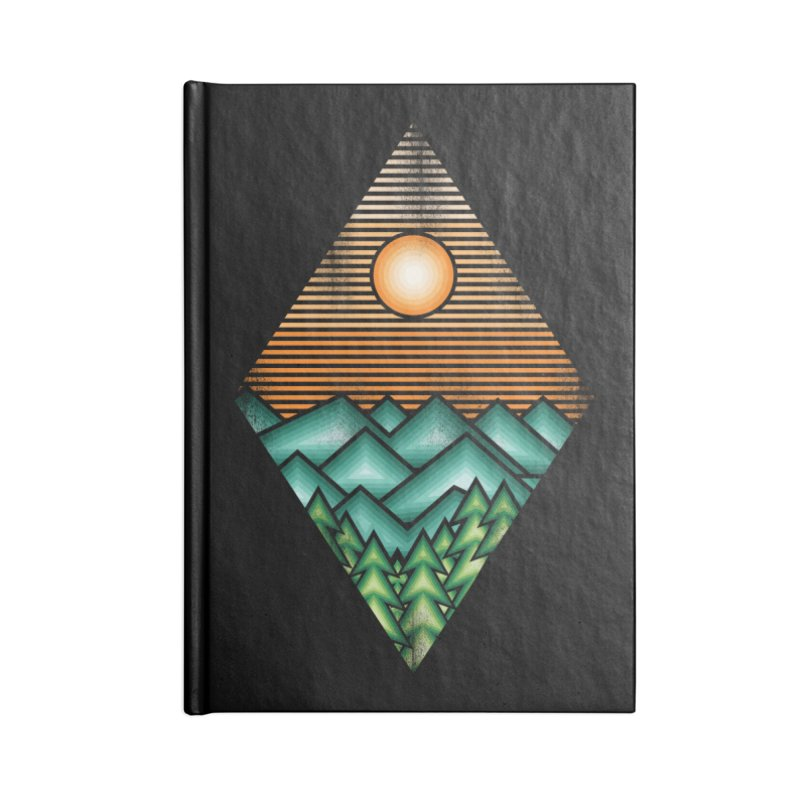 the forest Accessories Notebook by jun21's Artist Shop
