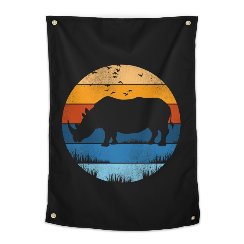 The Rhino Home Tapestry by jun21's Artist Shop