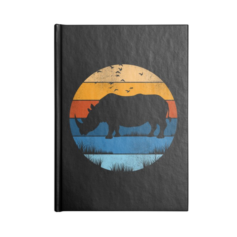 The Rhino Accessories Notebook by jun21's Artist Shop