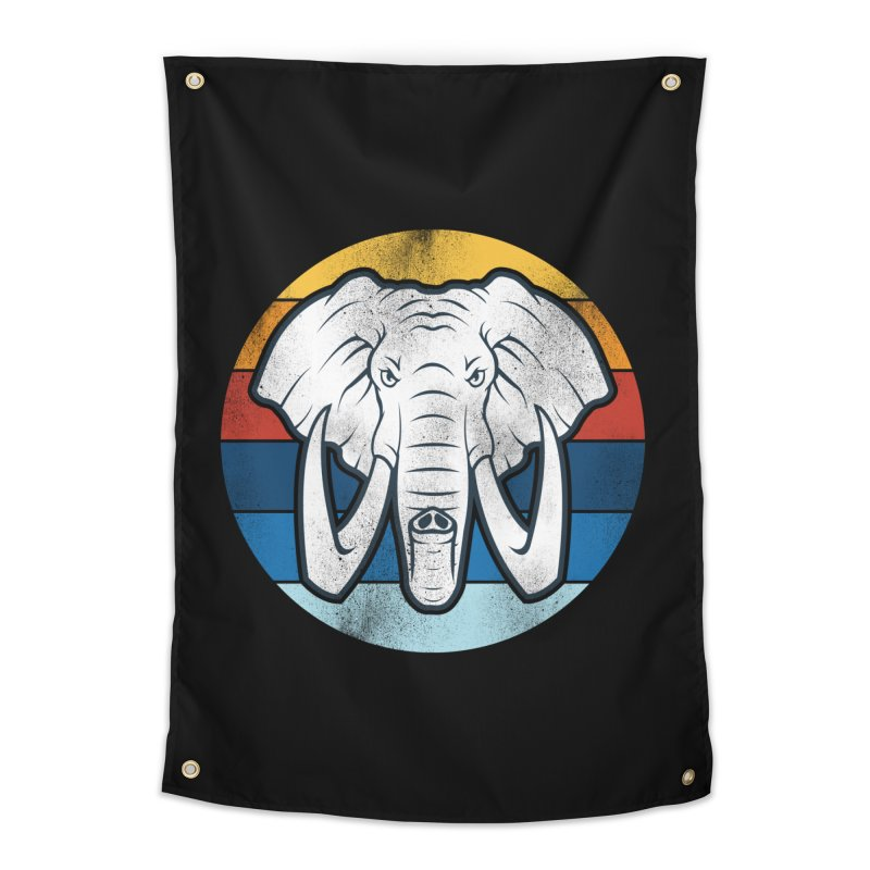 Mr. Elephant Home Tapestry by jun21's Artist Shop
