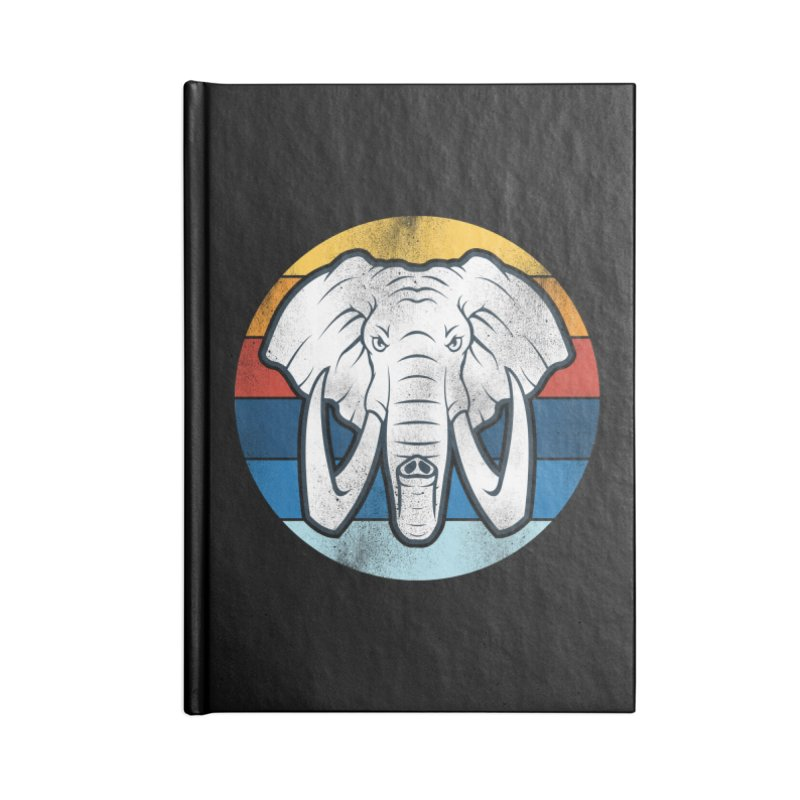 Mr. Elephant Accessories Notebook by jun21's Artist Shop