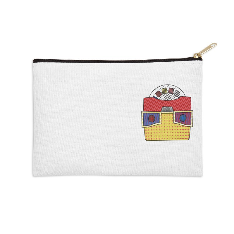 Everlasting Views Accessories Zip Pouch by Jungle Girl Designs
