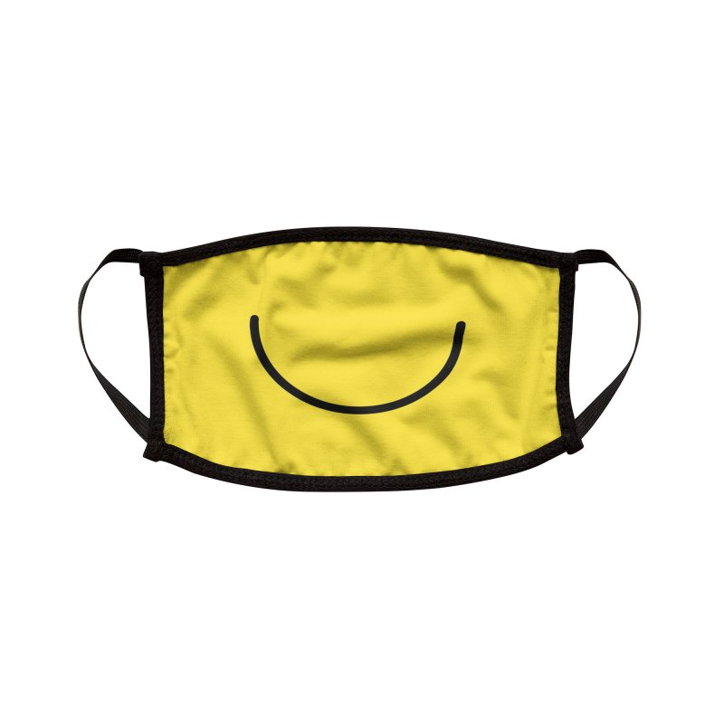 Happy Face Accessories Face Mask by Jungle Girl Designs