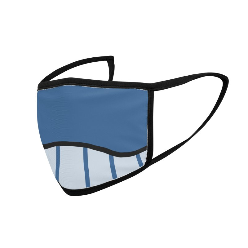 Happy Whale Face Accessories Face Mask by Jungle Girl Designs
