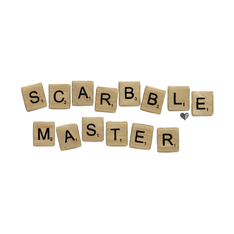 Scarbble Master Kids T-Shirt by Jungle Girl Designs