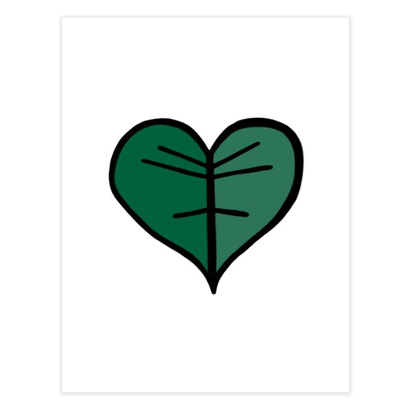 Jungle Girl Designs Logo Home Fine Art Print by Jungle Girl Designs
