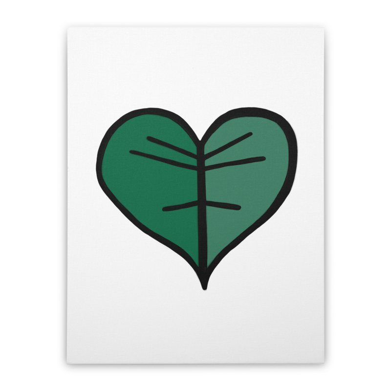 Jungle Girl Designs Logo Home Stretched Canvas by Jungle Girl Designs
