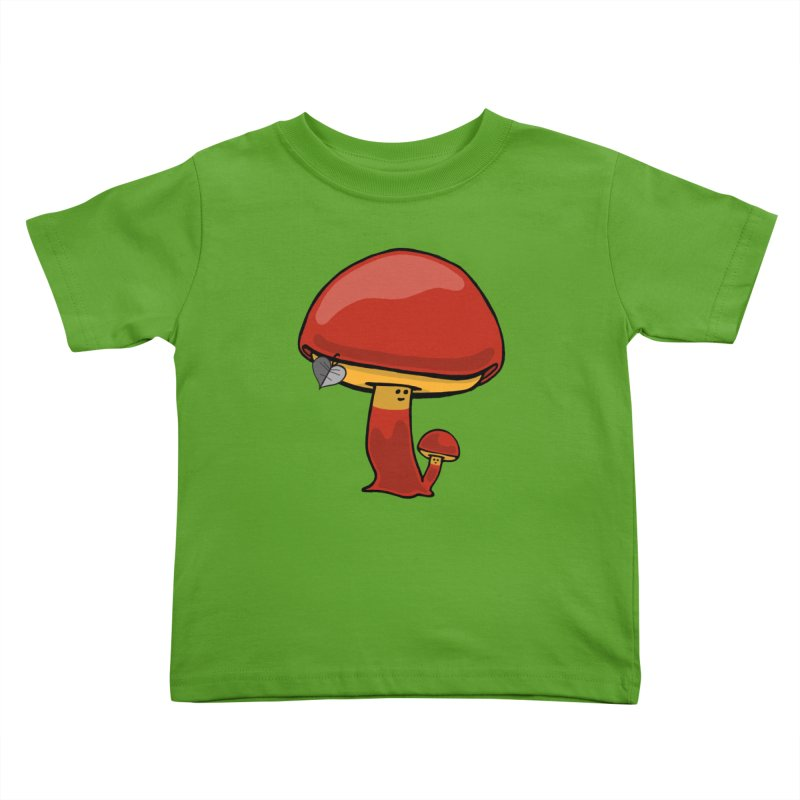 Growing up Loved Kids Toddler T-Shirt by Jungle Girl Designs