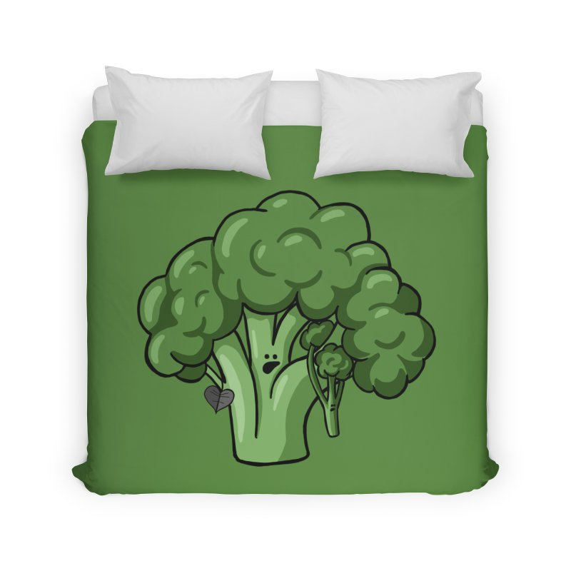Growing up Strong Home Duvet by Jungle Girl Designs