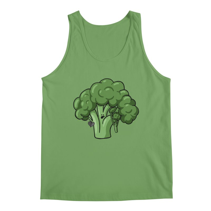 Growing up Strong Men's Tank by Jungle Girl Designs