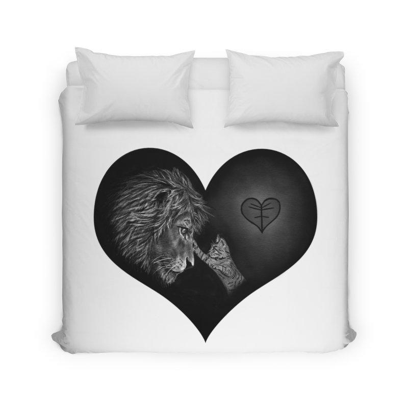 Felidae Home Duvet by Jungle Girl Designs