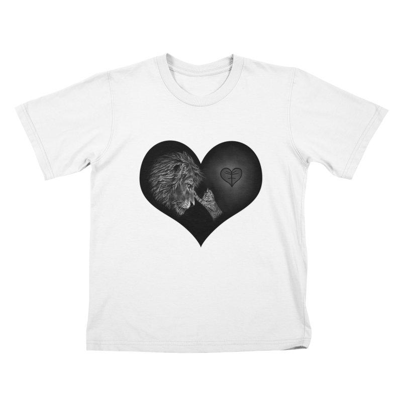 Felidae Kids T-Shirt by Jungle Girl Designs