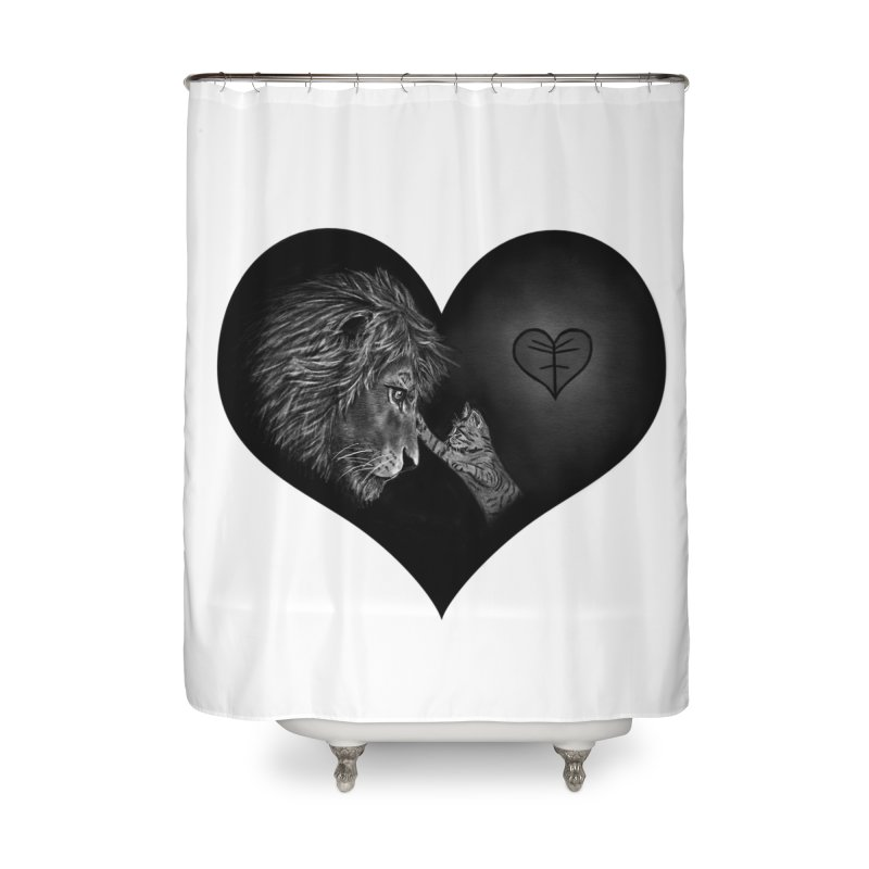 Felidae Home Shower Curtain by Jungle Girl Designs