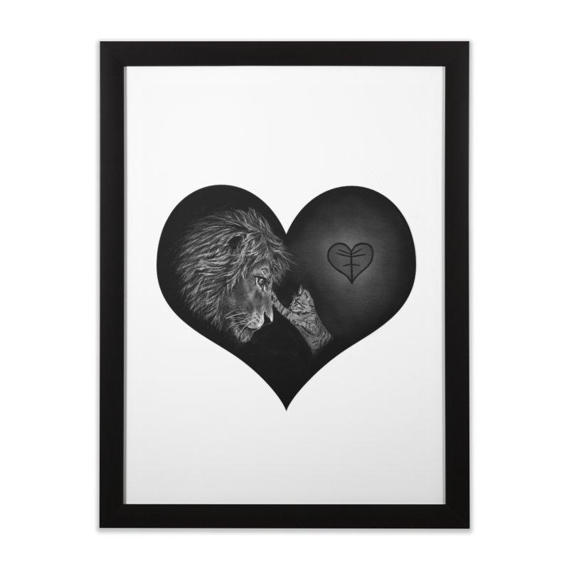 Felidae Home Framed Fine Art Print by Jungle Girl Designs