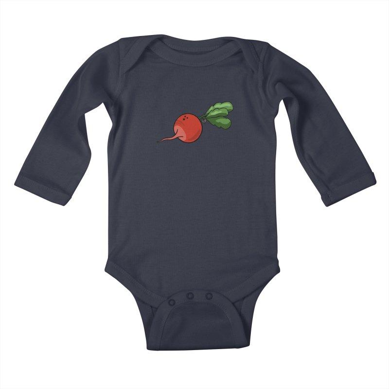 Growing up in Awe Kids Baby Longsleeve Bodysuit by Jungle Girl Designs