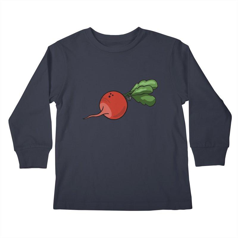 Growing up in Awe Kids Longsleeve T-Shirt by Jungle Girl Designs