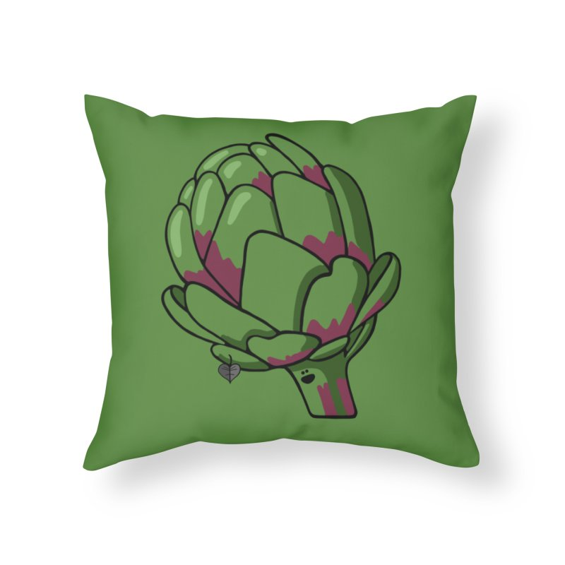 Growing up Smart Home Throw Pillow by Jungle Girl Designs