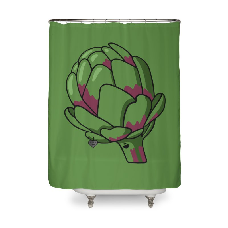 Growing up Smart Home Shower Curtain by Jungle Girl Designs