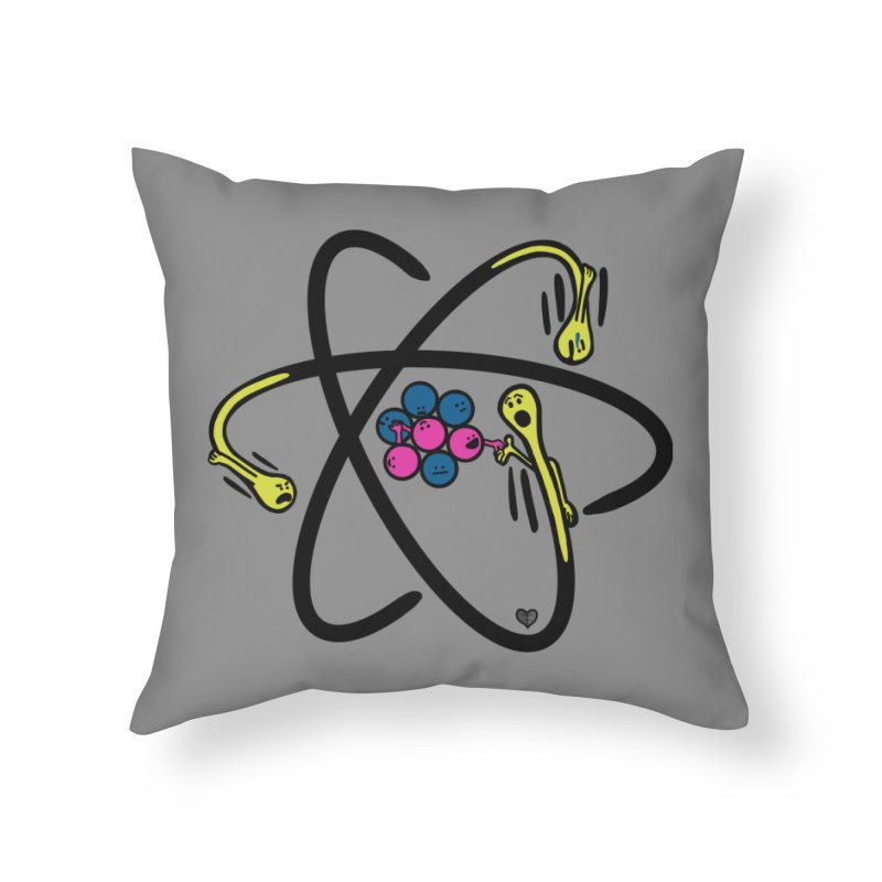 Lithium Home Throw Pillow by Jungle Girl Designs