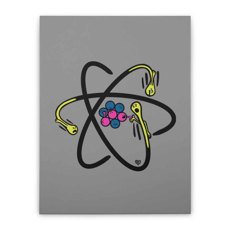 Lithium Home Stretched Canvas by Jungle Girl Designs