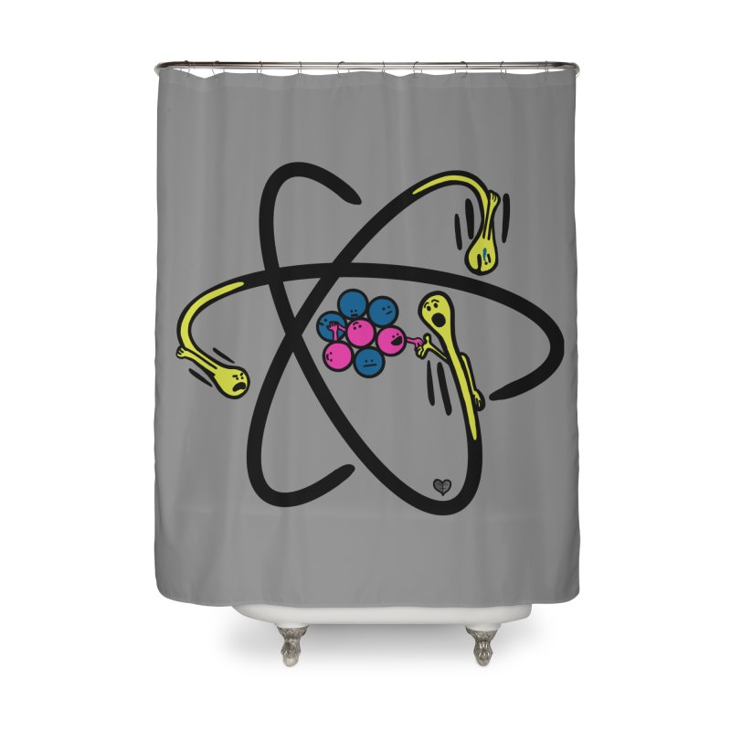 Lithium Home Shower Curtain by Jungle Girl Designs