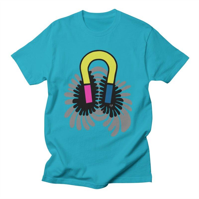 Magnet Men's T-Shirt by Jungle Girl Designs