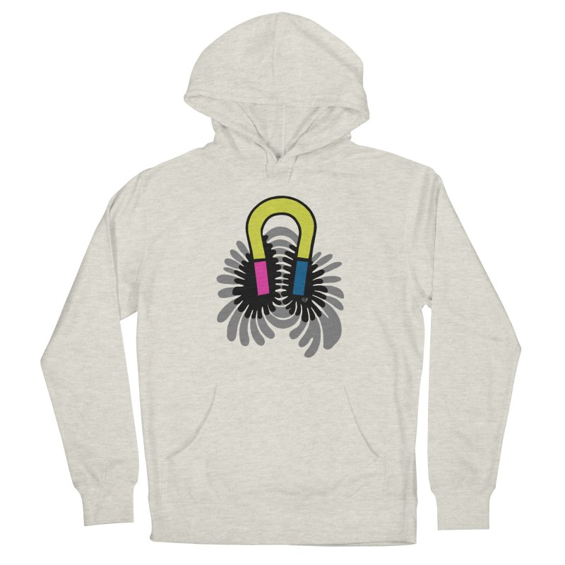 Magnet Women's Pullover Hoody by Jungle Girl Designs