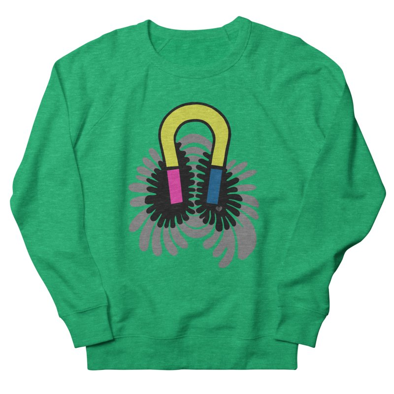 Magnet Women's Sweatshirt by Jungle Girl Designs