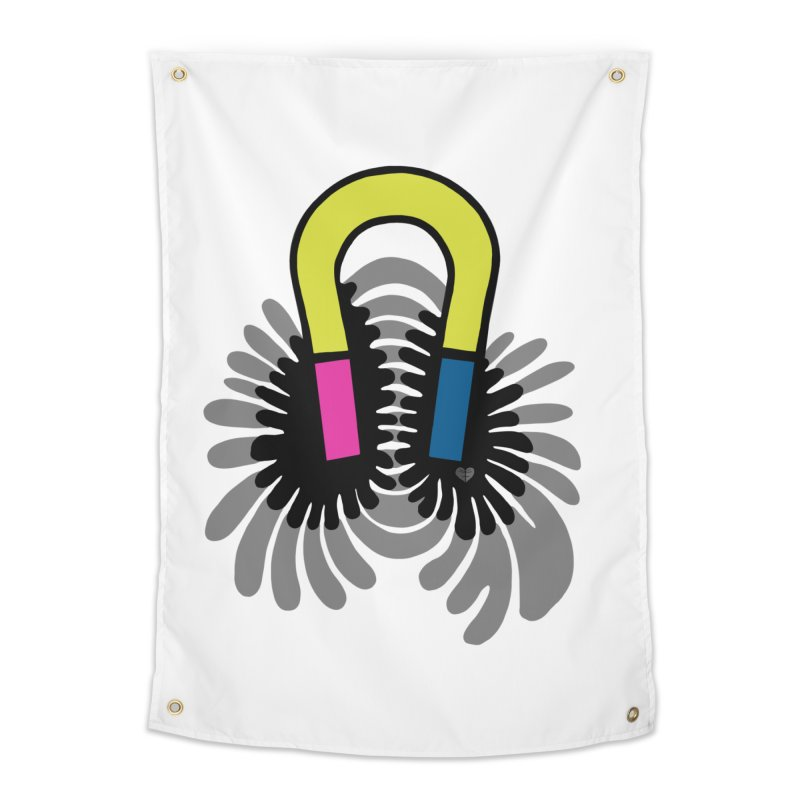 Magnet Home Tapestry by Jungle Girl Designs
