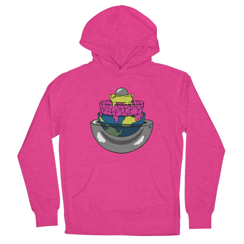 Layers of the Earth Women's Pullover Hoody by Jungle Girl Designs