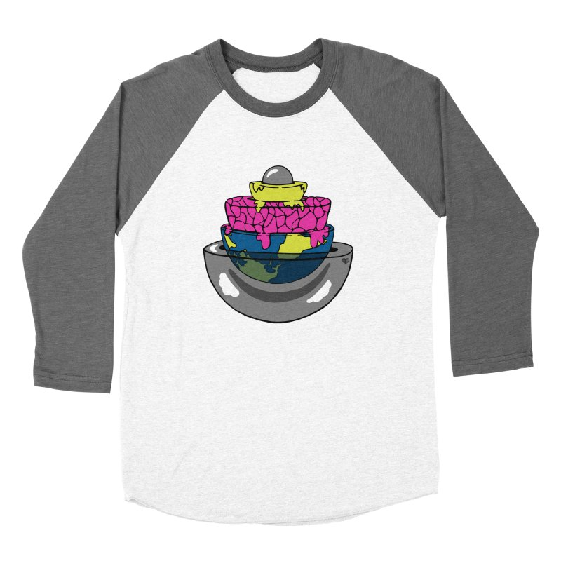 Layers of the Earth Women's Longsleeve T-Shirt by Jungle Girl Designs