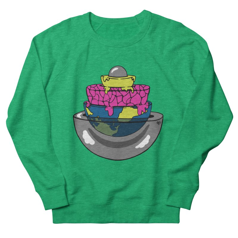Layers of the Earth Women's Sweatshirt by Jungle Girl Designs