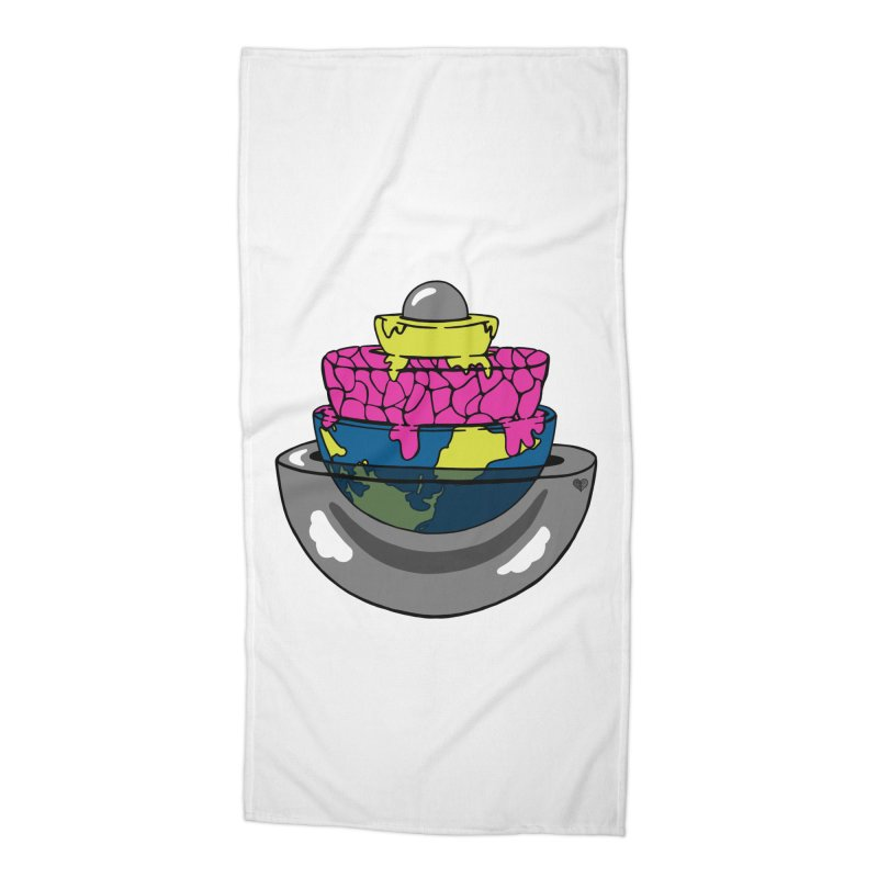 Layers of the Earth Accessories Beach Towel by Jungle Girl Designs