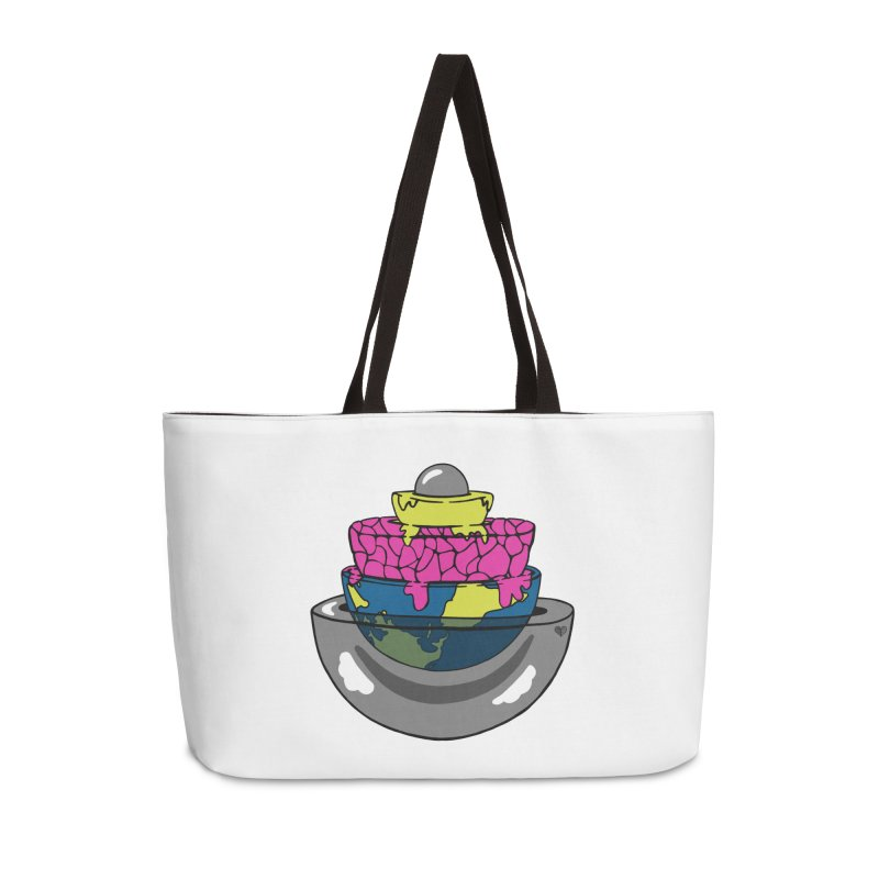 Layers of the Earth Accessories Bag by Jungle Girl Designs